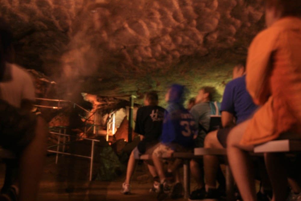 Mammoth Cave Bleachers