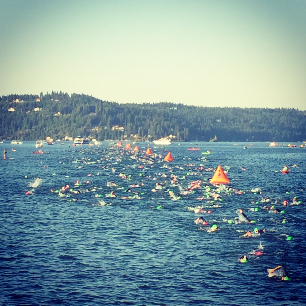 Ironman CDA 2015 Swim