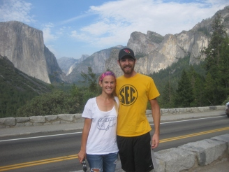 Our First Glimpse of Yosemite