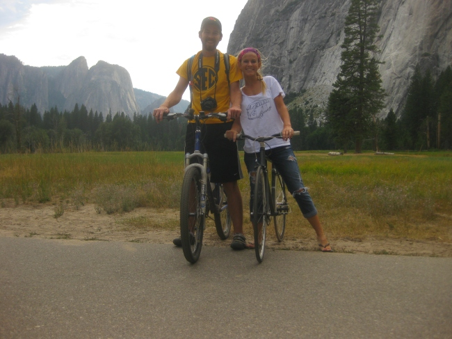 Yosemite Bike Ride