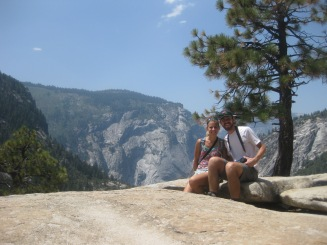 Glacier Point Hike - Lunch