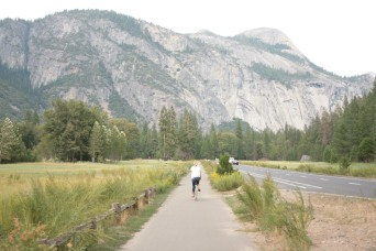 Biking in Yosemite Valley