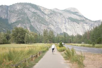 Biking in Yosemite Valley