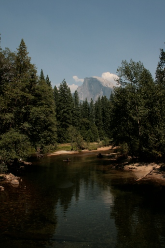 Half Dome Merced River