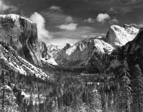 Ansel Adams Yosemite Vally