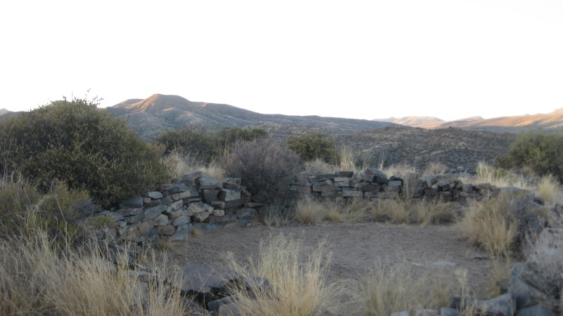 Geocaching at the Sears Kay Ruins