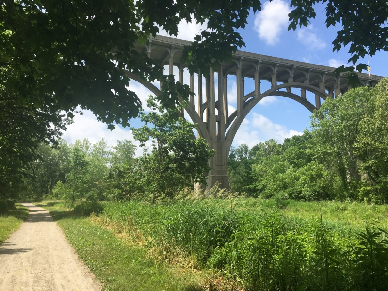 Riding the Towpath in Cuyahoga Valley NationalPark