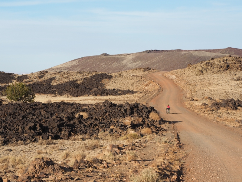 Bikepacking the Craters and Cinder Cones Loop