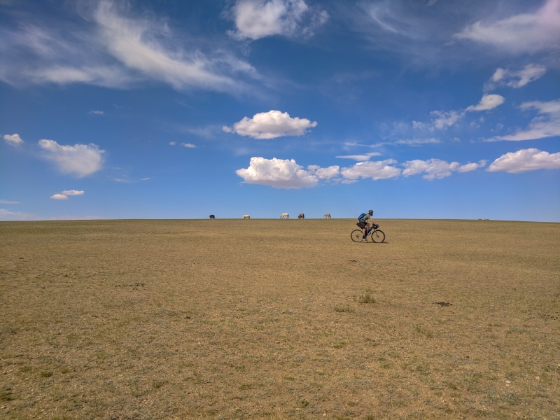 Bikepacking the Mongolian Steppe